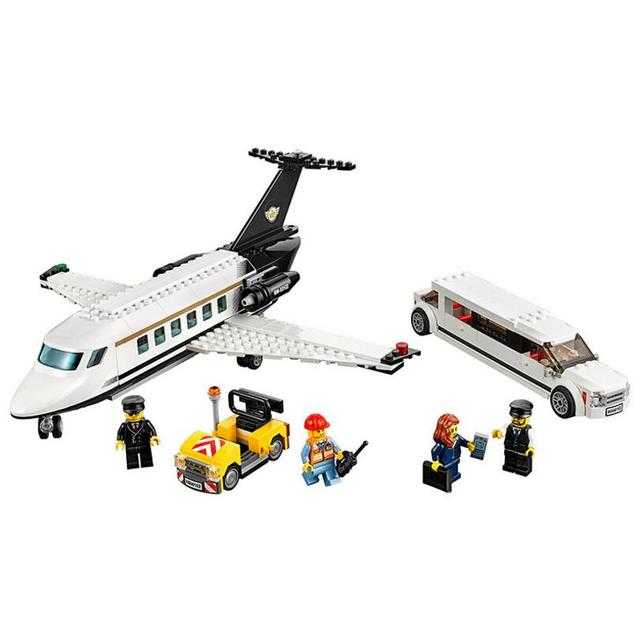 Lepin 60102 City Series Airport Transport Aircraft Brick Toy