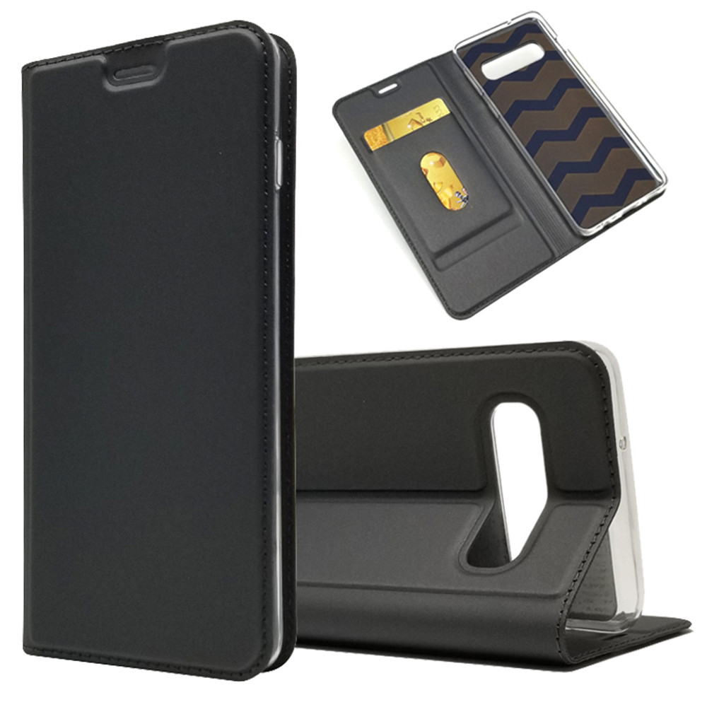 S10 Plus Case on For Fundas Samsung Galaxy S10 case cover Leather Case For Samsung Galaxy S10E Coque Flip Wallet Phone Cases