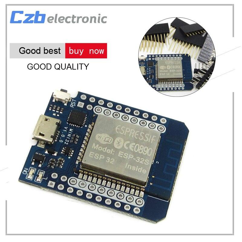 Ttgo ESP32 Wi-Fi <font><b>Bluetooth</b></font> для wemos D1 мини <font><b>ESP8266</b></font> ESP-32S интегрированный беспроводной модуль с контакты