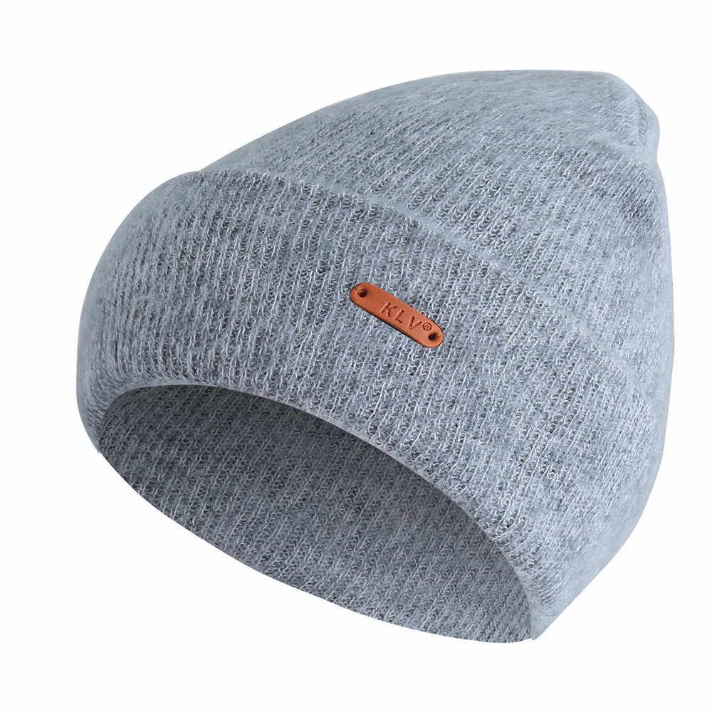 9c8a19d6445e25 Men Women Baggy Hat Hip Hop Unisex Winter Warm Crochet Wool Knit Ski Beanie  Skull Slouchy