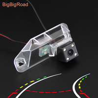 BigBigRoad Car Intelligent Dynamic Tracks Backup Camera For Lexus IS250 IS300 IS 250 300 2006 2007 2008 2009 2010 2011 2012 2013