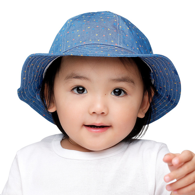 Fashion Baby Cowboy Hat Cotton Comfortable Boys Caps Spring Autumn Infant  Bucket Hat Baby Girls Sun 47f82bff22d