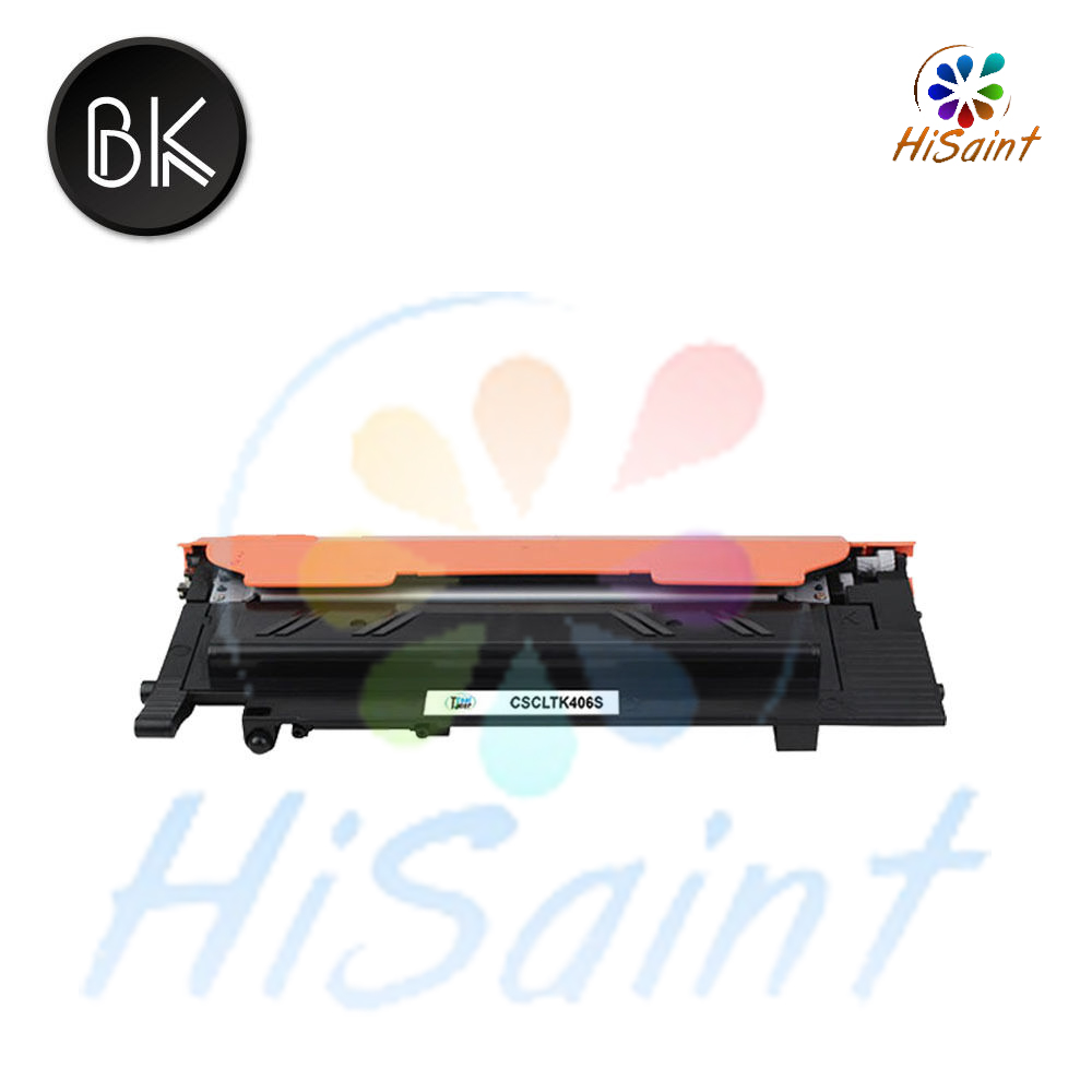 Free shipping 2015 New [Hisaint] fCLT-K406S XAA Black Compatible Toner for Samsung CLP-360 366 366W CLX-3300 3305