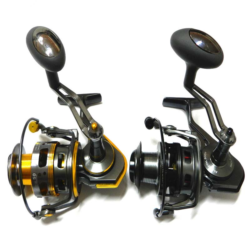 ФОТО High quality metal ice fishing reel spinning reels 5000  Winter coil reel fishing ice fishing spincast reel Daiwa tatula