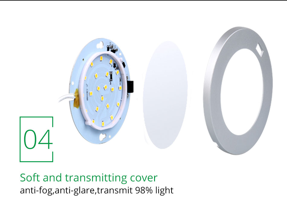 21PCS Under Cabinet Lamps 3W Motion Sensor IR Silver Round LED Puck Counter Led Lights Closet Cupboard Wardrobe Locker Lighting (12)