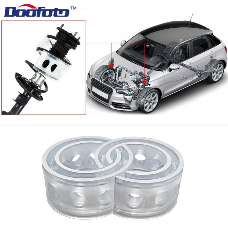 Doofoto 2pcs Car Shock Absorber Spring Bumper Power Auto-buffers Cushion Avtobafery Car Accessories Universal A B C D E F A+ B+