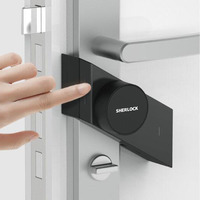 New Version Sherlock Smart Stick lock M1 Smart door lock Bluetooth Wirelless Open or Close Door work Smart App Control
