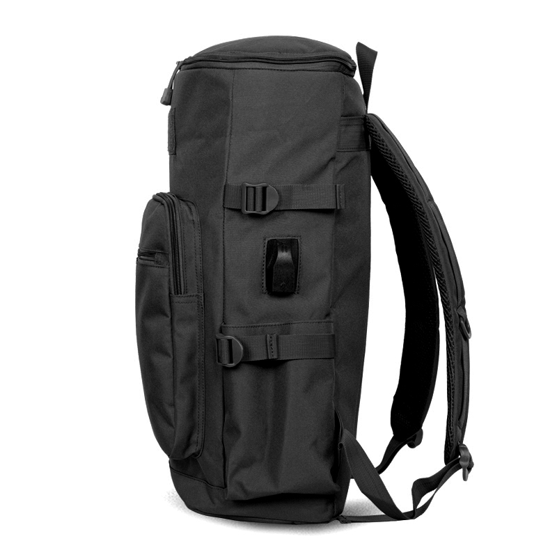 Hot Sale Nylon Black Backpack Waterproof Mens Back Pack Laptop Mochila High  Quality Designer Backpacks Male ... 850e4778a0d70