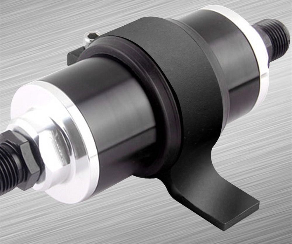 Universal New 60mm Aluminum Fuel Filter Bracket Mount Clamp Fits Honda Hhr Location 23