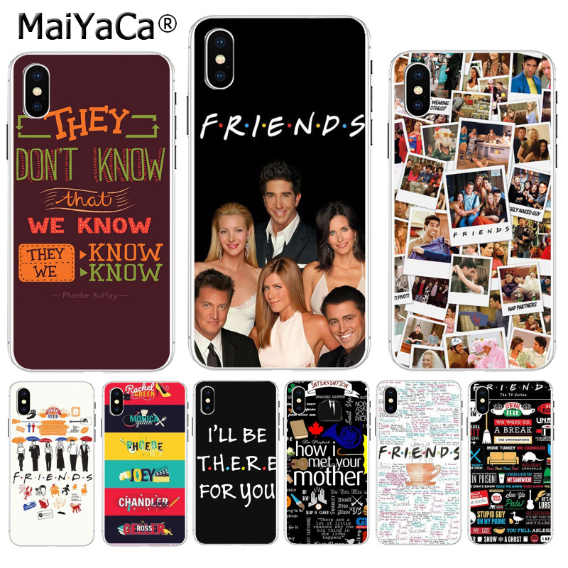 MaiYaCa Freunde <font><b>TV</b></font> Show Series Sitcom How I Met Your Mutter Bunte Telefon abdeckung für <font><b>iPhone</b></font> 8 7 6 6S Plus X XS max 5 5S SE XR image