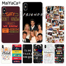MaiYaCa Freunde TV Show Series Sitcom How I Met Your Mutter Bunte Telefon abdeckung für iPhone 8 7 6 6S Plus X XS max 5 5S SE XR(China)