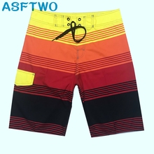 Quick Dry Polyester Surf Shorts Mens Bermuda Printed Beach Large Size Wholesale 2019 News