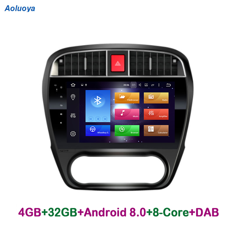 Aoluoya 4G RAM 32G ROM Octa Core Android 8.0 autoradio DVD GPS Navigation pour Nissan Sylphy 2008 2009 2010 201 Audio multimédia