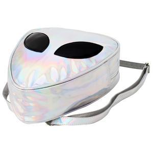 Women Mini Holographic Hologram Backpack School Shoulder Bag Travel Rucksack