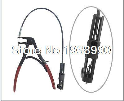 Flexible Wire Long Reach Hose Clamp Pliers Fuel Oil Water Hose Auto Tool quality 9 in 1 flexible hose clamp plier kit pliers tool set with case auto vehicle tools cable wire long reach car repair tools