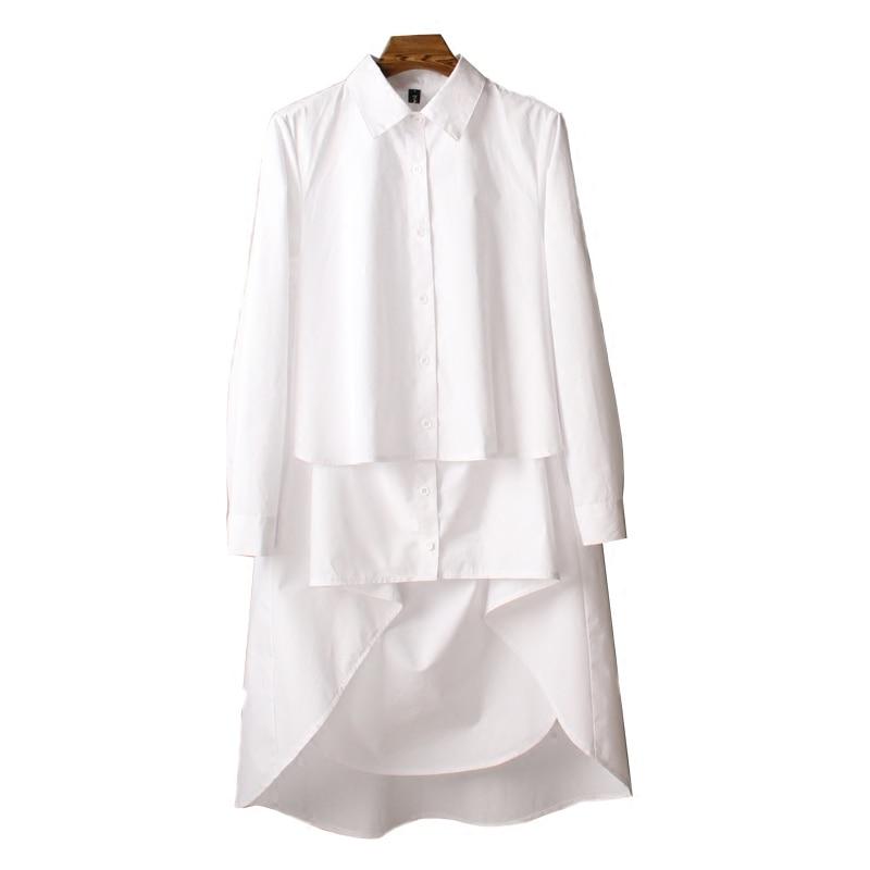 Blanche Lâche Longues Nouvelle Robe Xxxxl D'été Irrégulier Longue Coton 2018 Black Taille Manches Getsring Femmes Grande white Robes À Manche qtwzz4