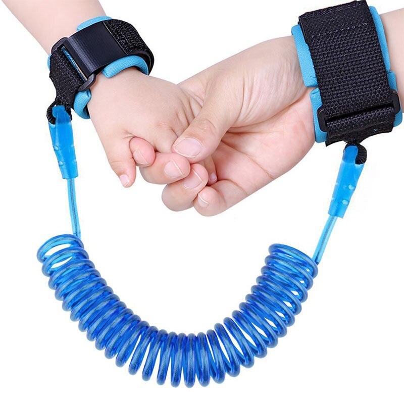 תינוק טיפול אנטי אבודה בטיחות יד קישור פעוט בטיחות רצועה רצועת צמיד רך טיפוח & בריאות ערכות לילדים ילדים