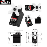 Original Hitec HS 65HB Large torque carbon fiber gear micro analog steering gear servo Torque kg./cm. (4.8V / 6.0V): 1.8 / 2.2