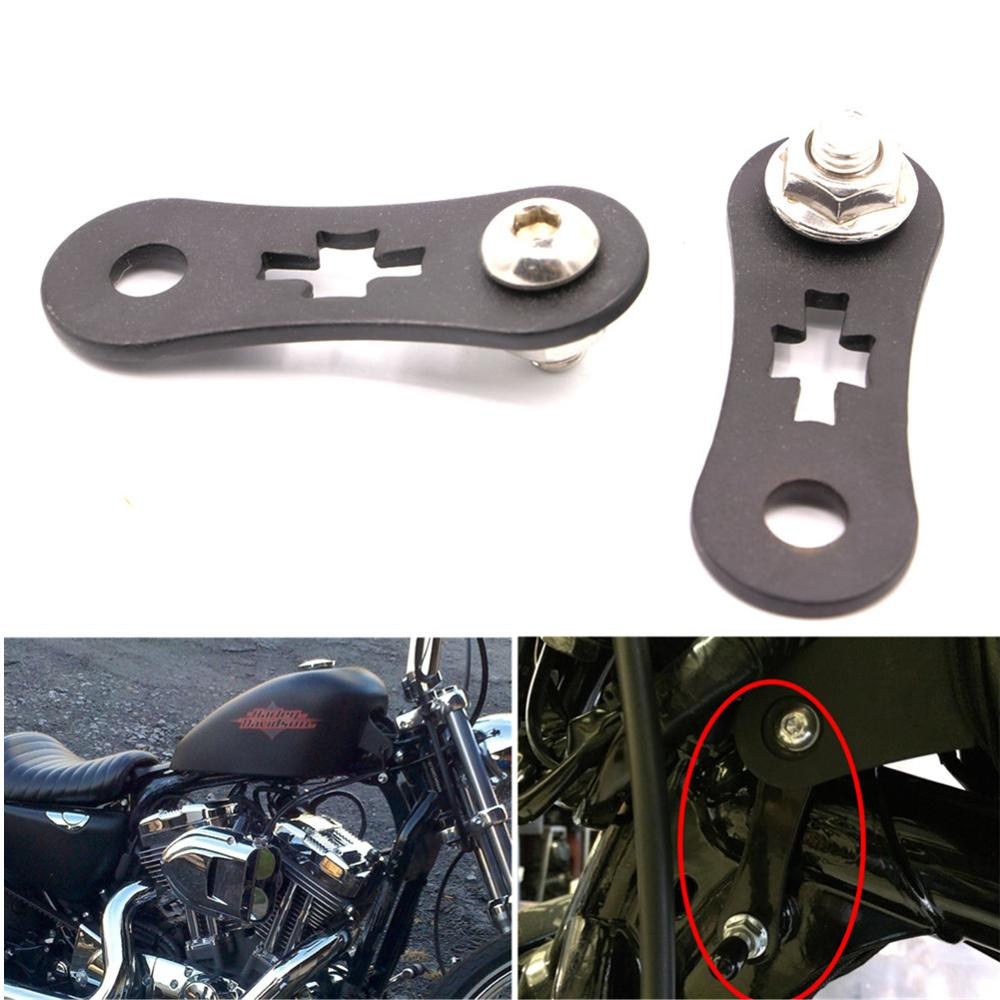 Motorcycle Accessories & Parts Responsible Motorcycle Black Steel Billet 2 Gas Fuel Tank Lifts Kit For Harley Sportster Xl 883 1200 Iron Nightster 48 72 Models 1995-up Covers & Ornamental Mouldings