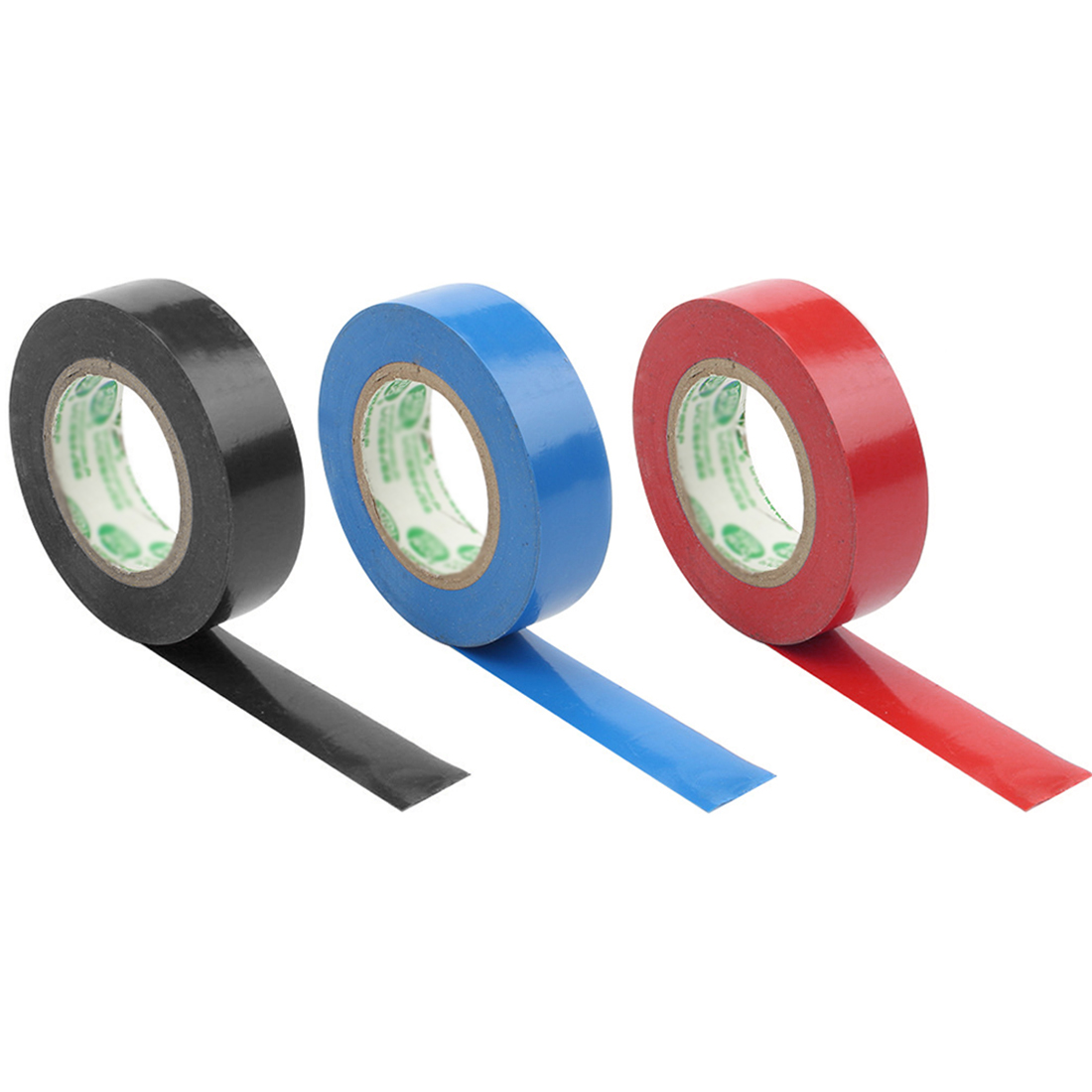 Electrical Tape 10/15 Meters 3 Color Export All Over The World Electrical Insulating Tape Waterproof Tape