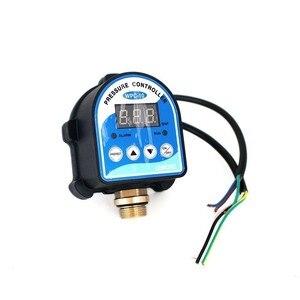 """Image 2 - ロシアデジタル Led 表示ウォーターポンプ圧力制御スイッチ G1/4 """"G3/8"""" G1/2 """"WPC 10 、 eletronic コントローラセンサーとアダプタ"""