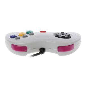 Image 3 - Классический игровой контроллер USB, проводной игровой контроллер для ПК, джойстик для ноутбука Sega Saturn
