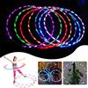 90cm LED Glow Hula Hoop Multicolor Sports Toys Loose Weight Kids Child