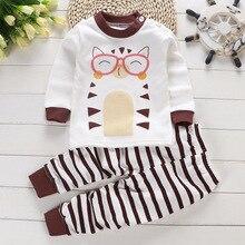 Clothing-Sets Little-Boys Kids Pants Shirt Sport-Suit Children Autumn Spring