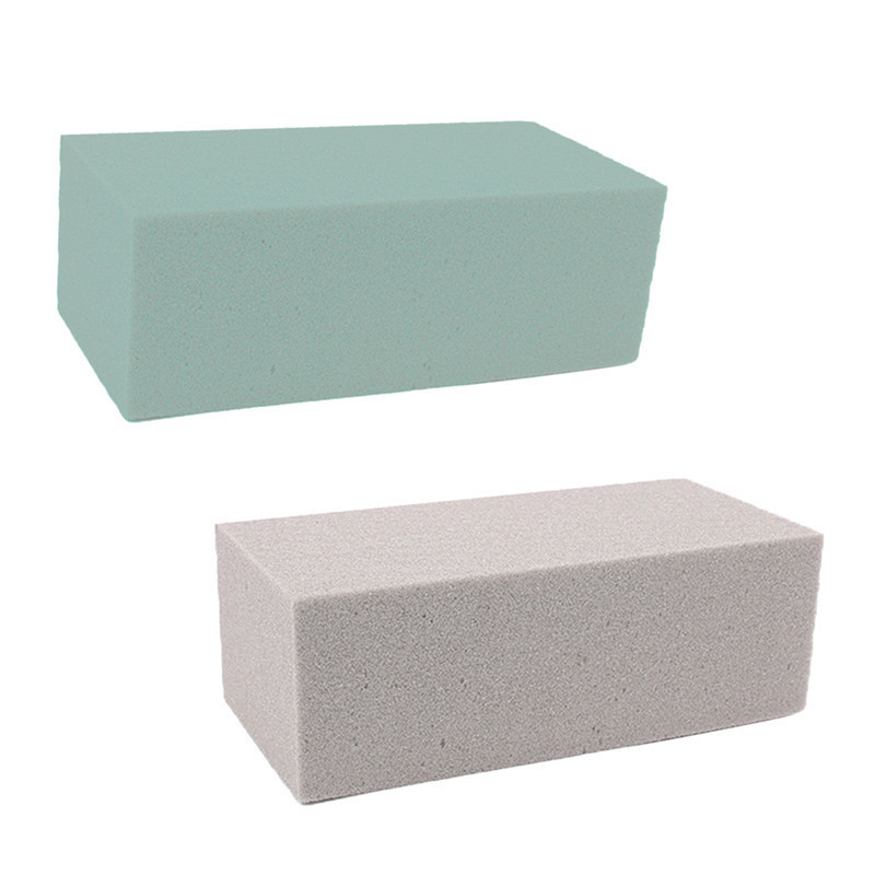 1 pc DIY Floral Foam Brick Block Flower Foam Holder For Fresh Flower Wedding Balcony Festive Party Home Garden Decorations