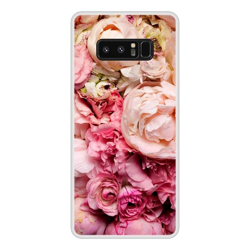 Téléphone étui pour Samsung Galaxy Note8 8 Silicone Souple TPU Mignon Motif Coque pour Samsung Note8 8 Cas