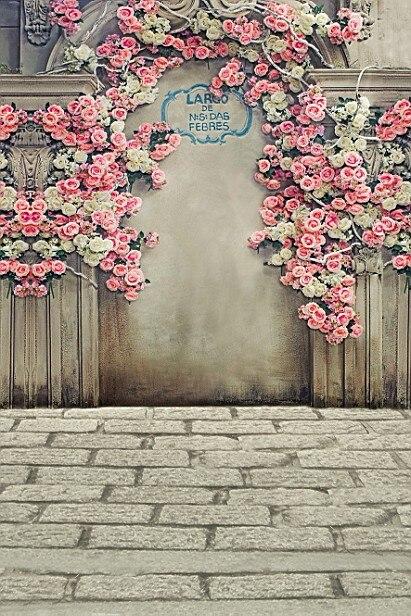 LIFE MAGIC BOX Flowers Wedding Photography Backdrops Photo Studio Backgrounds ...