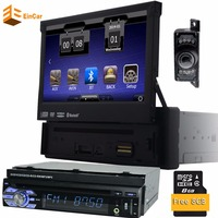 In Dash 1 Din Automotive Car With GPS Nav 7 Car Audio Stereo Bluetooth Vedio PUPUG