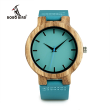 WC28 Mens Wood  Anlaogue Watch