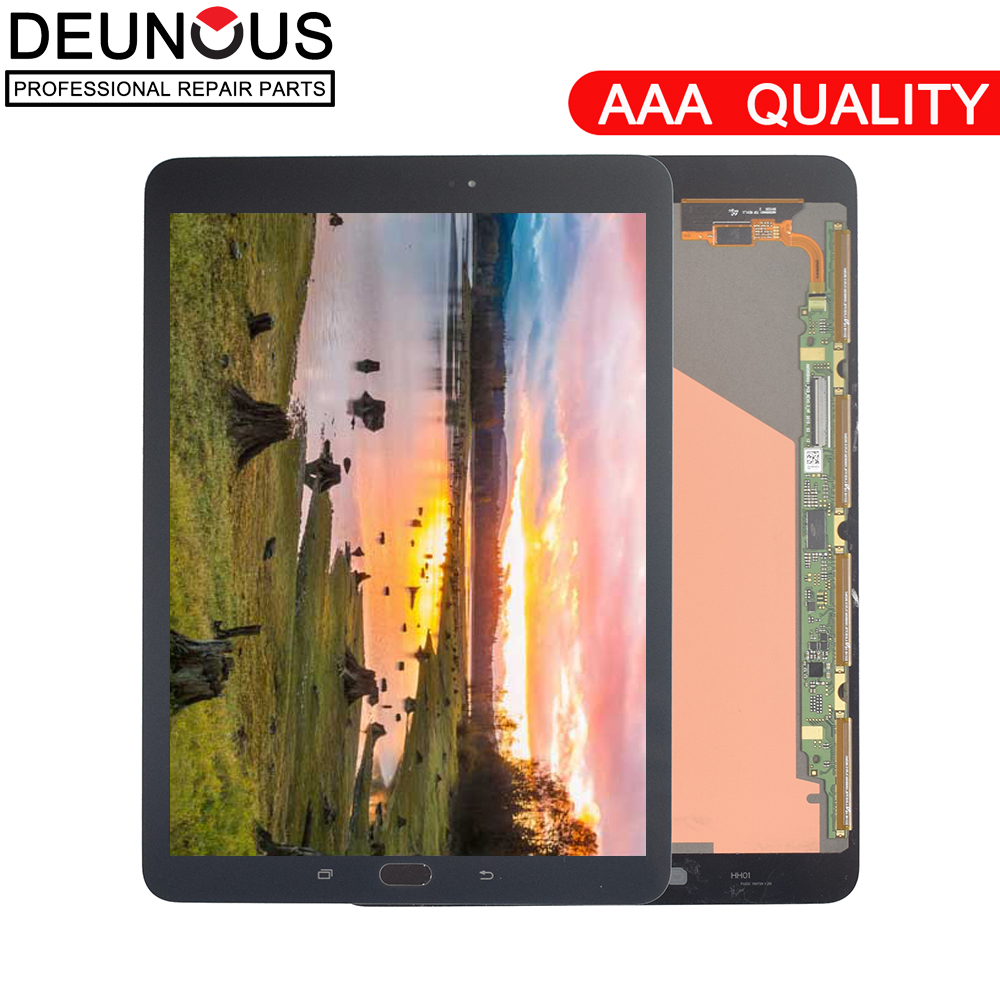 New 9.7 inch Full LCD Display Panel +Touch Screen Digitizer Glass For Samsung Galaxy Tab S2 T810 T815 T819 Digitizer assembly for samsung galaxy tab s2 8 0 t710 tablet lcd display monitor touch screen digitizer panel glass assembly 100