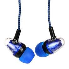 Di alta Qualità 3.5 millimetri in ear auricolari bass sport auricolare auricolare stereo per Iphone 5 5s 6 6sp 7 ipad mp3 samsung sony xiaomi huawei