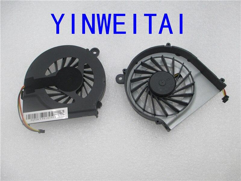 For HP Pavilion G7 G4-1000 1050tx 1055tu 1056tu1057tu1058tx  G6 G4t G6t G7t Series Laptop  Fan 639460-001 646578-001 - 3 Wires 636370 001 pga989 ddr3 laptop motherboard fit for hp pavilion g4 1000 g7 1000 g7t 1000 series notebook pc main board