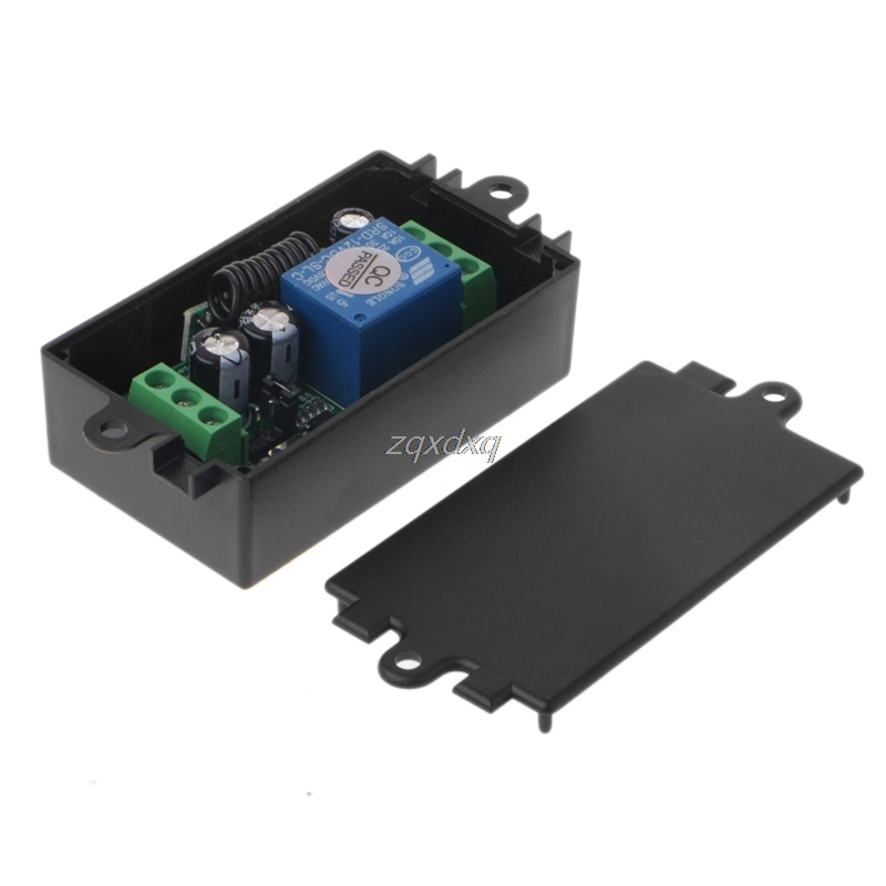 DC 12V 1CH RF Relay Wireless Remote Control Switch System Receiver Module 315MHz Drop Ship Electronics Stocks