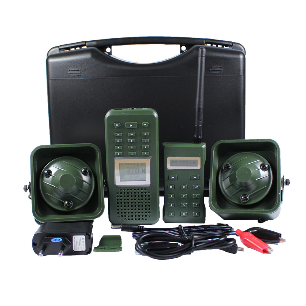 Hunting Caller 2pcs 50w 150dB Loud Speaker MP3 Bird Caller Built in 200 Bird Voices Electronic