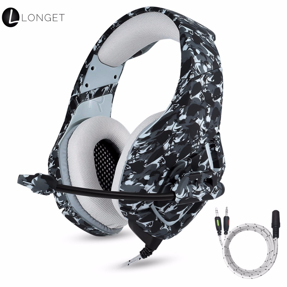 PS4 Gaming Headset with Mic for PC Mac Laptop New Xbox Surround Stereo Sound Noise Reduction One Key Mute Gaming Volume Control ...