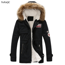 2017 New Design Winter Long Man & Woman Jacket Fashion Classic Thickening Duck Down Overcoat Thermal Male Big size Cotton Parka