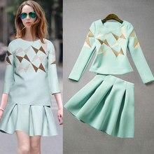 Women Spring & Autumn Dress Suit