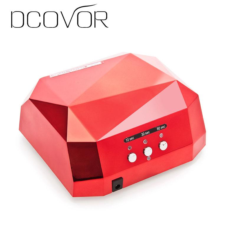 DCOVOR Nail Dryer LED UV Lamp Nail 36W Beauty Salon Makeup Cosmetic UV Gel Nail Dryer Polish Machine for Curing Nail Art Tools nail dryer