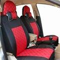 Cubierta de asiento de coche universal fit para posterior del coche hatchback y sedán asiento trasero splite 40/6 ornot del anverso y el reverso mismo cubre