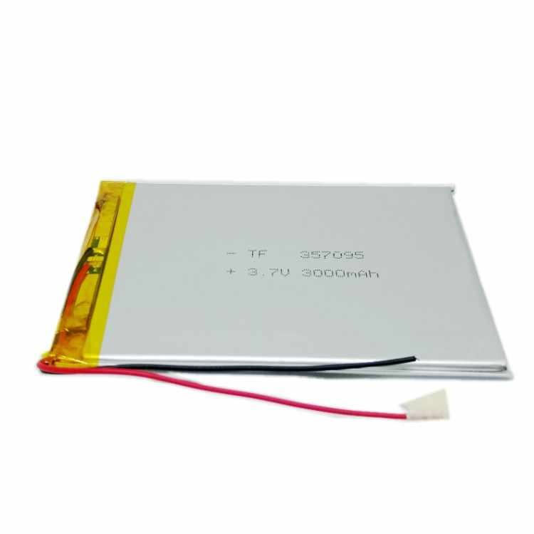 3,7 V литий-полимерный Батарея 3000 мА/ч, большая емкость планшет компьютерная батарея MP5 аккумуляторная батарея для T7