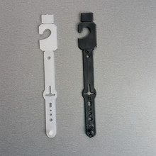 HK14 di Plastica PP Cinghia di Cuoio Prodotti Cornici e articoli da esposizione Display Appeso Clip di Fibbia Catenacci Per Gli Accessori Degli Indumenti Pioli Ganci 200 pcs