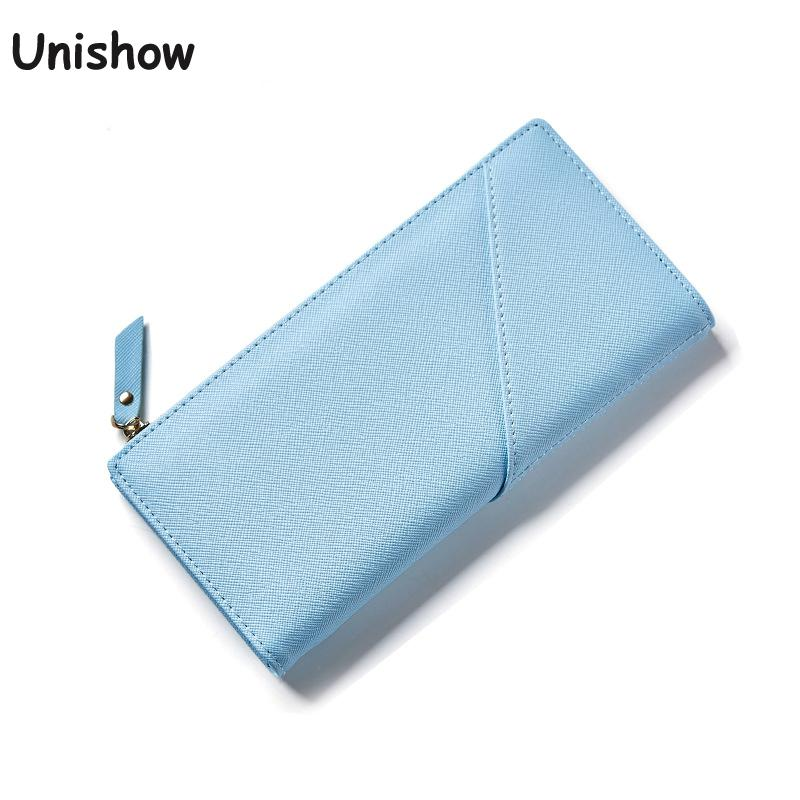 Simple Elegant Women Thin Wallet Brand Pu Leather Female Purse Long Fashion Women Phone Wallet With Card Holder simple organizer wallet women long design thin purse female coin keeper card holder phone pocket money bag bolsas portefeuille