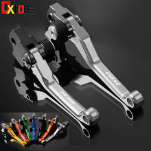 Motorcycle Accessiores For KTM 450XC 450 XC 2004 Motorbike CNC Aluminum Pivot Brake Clutch Lever with logo