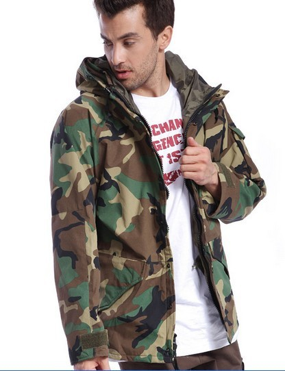 Army Jacket Quality 100% Cotton Jungle Camouflage Mens Hunting ... fbbd6aed2f2