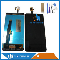 High Quality For ZTE Nubia N1 NX541J LCD Display Touch Screen Digitizer Black White Colour With