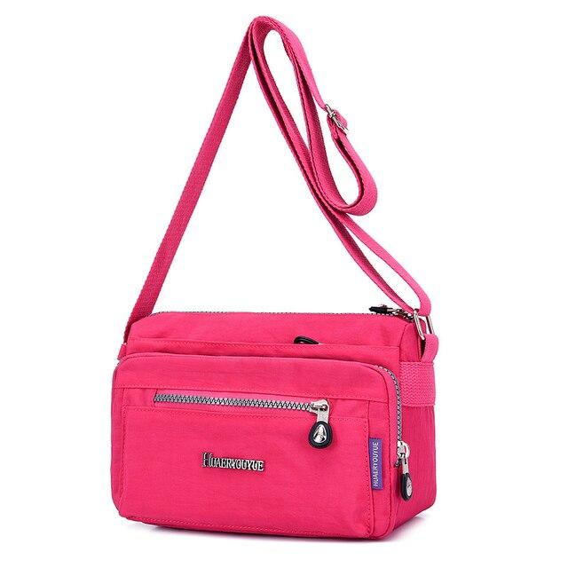 Luxury Women Messenger Bag Nylon Shoulder Bag Ladies Bolsa Feminina Waterproof Travel Bag Women's Crossbody Bag